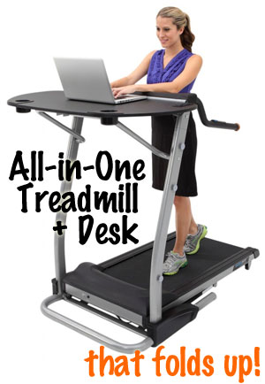 Exerpeutic Treadmill Desk Desk