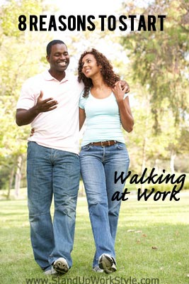 Health Benefits of Walking: 8 Reasons to Walk at Work