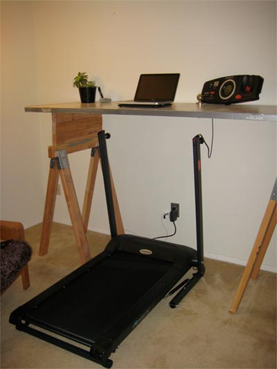 Can You Make an Exerpeutic Treadmill into a Treadmill Desk?