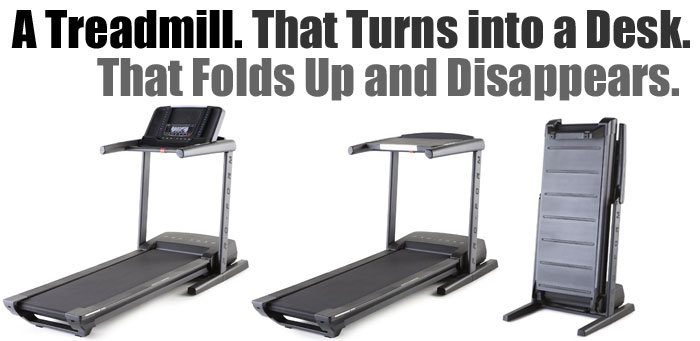 ProForm Thinline Desk Treadmill Conversion