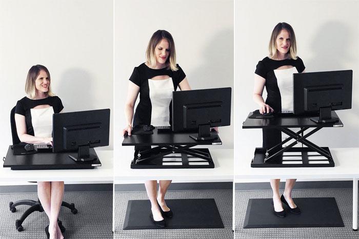 Stand Steady X Elite Pro Up Desk Converter