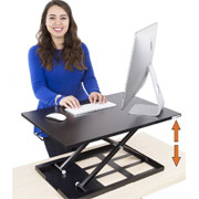 Stand Steady X-Elite Pro Sit-Stand Adjustable Desk