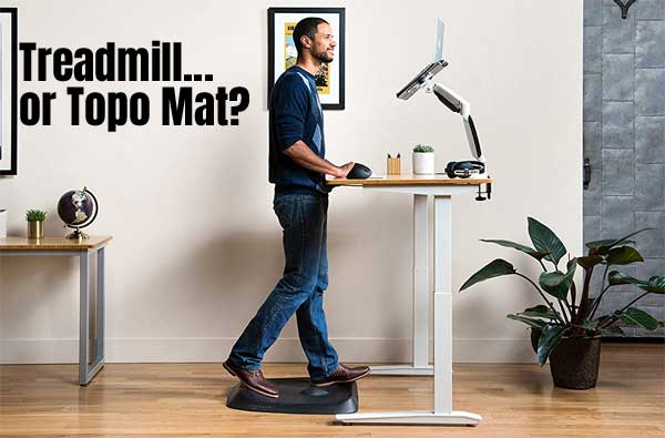 Topo Standing Desk Mat Better Than A Treadmill Desk